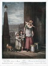 'Milk Below Maids', 1793.Artist: Luigi Schiavonetti