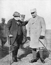 General Philippe Petain and Georges Clemenceau, (1926). Artist: Unknown