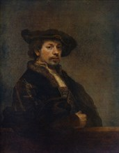 'Self Portrait at the Age of 34', 1640, (1912).Artist: Rembrandt Harmensz van Rijn