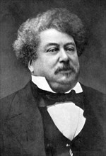 Alexandre Dumas, 19th century French author, (1902). Artist: Unknown