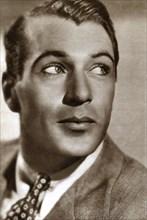 Gary Cooper, American film actor, 1933. Artist: Unknown