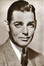 Clark Gable, American actor, 1933. Artist: Unknown