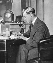 King Edward VIII at work, 1936. Artist: Unknown