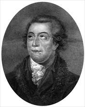 Antoine Laurent de Lavoisier, 18th century French scientist, (1812).Artist: J Chapman