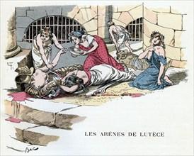 'The Arenas of Lutetia', c1870-1950.Artist: Ferdinand Sigismund Bac