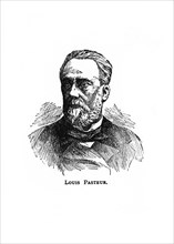 Louis Pasteur, 19th century French microbiologist and chemist, (20th century). Artist: Unknown