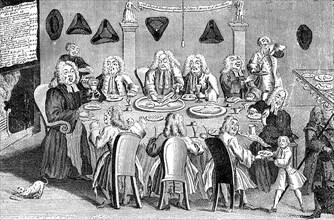 'A Parish Feast', 1741. Artist: Unknown