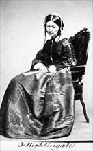 Florence Nightingale (1820-1910), 1854. Artist: Unknown