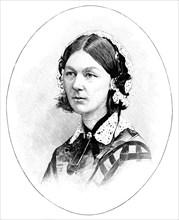 Florence Nightingale (1820-1910), British nurse. Artist: Unknown