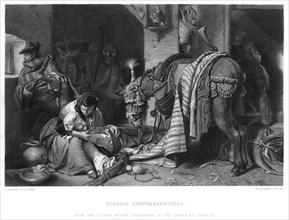 'Spanish Contrabandistas', c1860s. Artist: W Ridgway