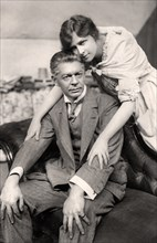 Marie Lohr (1890-1975) and E Holman Clark (1864-1925), early 20th century.Artist: Foulsham and Banfield
