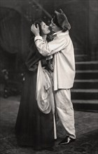 Beatrice Terry and H. Marsh Allen in The Palace of Puck, 1907. Artist: Unknown