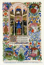 Hours of the Dead, 1414-1423.Artist: Workshop of the Master of the Duke of Bedford