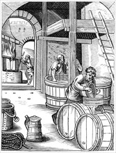 Brewer, 16th century (1849).Artist: Jost Amman