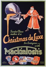 Advert for Mackintosh's toffees, 1934. Artist: Unknown