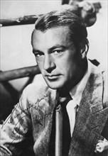 Gary Cooper, American film actor, 20th century. Artist: Unknown