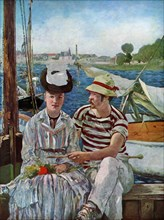 'Argenteuil', 1874.Artist: Edouard Manet