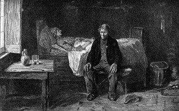 'Alone in the World', 1882. Artist: Unknown