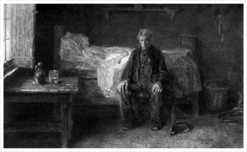 'Nothing Left', c1880-1882.Artist: Adolphe Alphonse Gery-Bichard