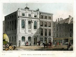 Town Hall, Borough High Street, Southwark, London, 1830.Artist: R Winkles