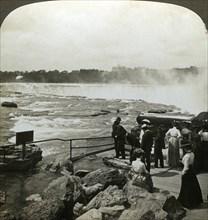 Terrapin Point, Goat Island, Niagara Falls, USA.Artist: HC White