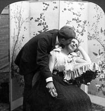 'Love's Token'.Artist: American Stereoscopic Company