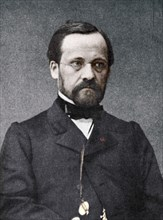 Louis Pasteur, French microbiologist and chemist, 19th century. Artist: Unknown