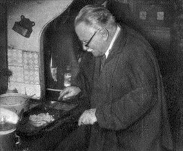 Prosper Montagne, French chef and author, 1932. Artist: Unknown