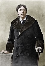 Oscar WiIde, Irish writer, wit and playwright, c1890. Artist: Unknown