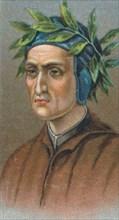 Dante Alighieri (1265-1321), Italian Florentine poet, 1924. Artist: Unknown