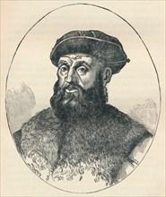 Ferdinand Magellan (c1480-1521), Portuguese explorer, 1904. Artist: Unknown.