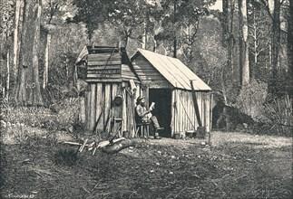 Encampment of Australian Squatters, 1896. Artist: Unknown