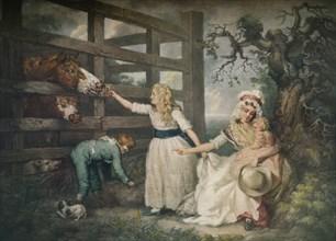Compassionate Children, c1793, (1916). Artist: William Ward