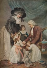 A Visit to the Grandfather, 1788, (1916). Artist: John Raphael Smith