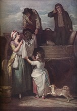 Cries of London: Fresh Gathered Peas Young Hastings, 1795, (1917). Artist: Giovanni Vendramini