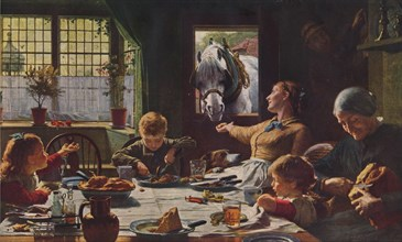 One of the Family, 1880, (1938). Artist: Frederick George Cotman