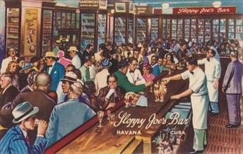 Sloppy Joe's Bar, Havana, Cuba, 1951. Artist: Unknown