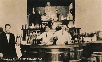 Havana Club Rum, Private Bar, Havana, Cuba, c1900s. Artist: Unknown