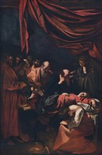 'Death of the Virgin', c1606. Artist: Michelangelo Caravaggio.
