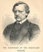 'Nils Adolf Erik Nordenskiold', (1832-1901), arctic explorer, 1893. Artist: Unknown.