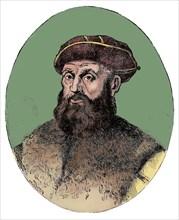 Ferdinand Magellan (c1480-1521), Portuguese explorer, 1904.