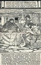 'Good King Wenceslas', 1895. Artist: Arthur Joseph Gaskin.