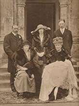 Christening of the first child of Mary, Princess Royal, Goldsborough, Yorkshire, 1923 (1935). Artist: Unknown.