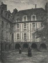 'Maison de Victor Hugo, Places des Vosges', 1915. Artist: George T Plowman.