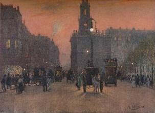 'St. Mary-Le-Strand', c1909. Artist: Algernon Talmage.
