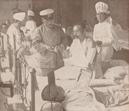 Japanese military hospital, 1905 (1907). Artist: Unknown.