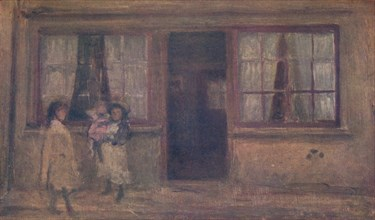 'The Little Nurse', c1881, (1904). Artist: James Abbott McNeill Whistler.