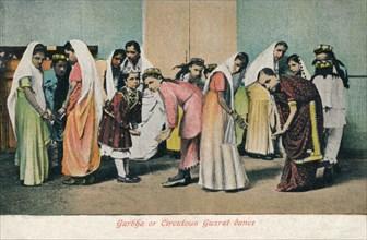 'Garbha or Circutous Gurzat dance', c1910. Artist: Unknown.