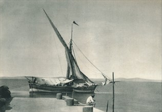 Harbour, Ischia, Italy, 1927. Artist: Eugen Poppel.