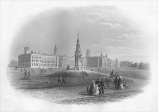 'Victoria Hospital, Netley', 1859. Artist: WE Albutt.